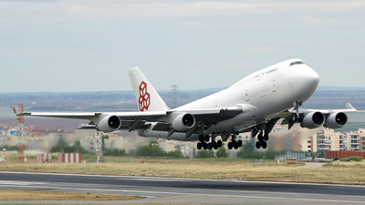 LX-ACV - Boeing 747-4B5(BCF) - Cargolux Airlines International