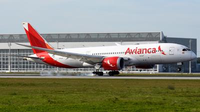 N781AV - Boeing 787-8 Dreamliner - Avianca