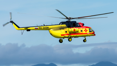 RA-24139 - Mil Mi-8AMT Hip - NAMS - National Air Medical Service (NSSA)