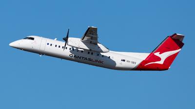 A picture of VHSBV - De Havilland Canada Dash 8300 - QantasLink - © bmwxinghao