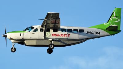 N862MA - Cessna 208B Grand Caravan - Mokulele Airlines