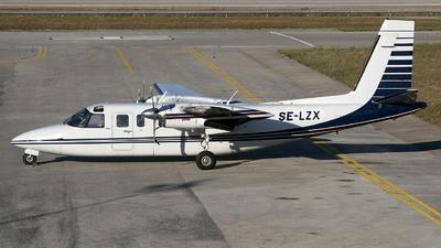 SE-LZX - Rockwell 690B Turbo Commander - Wermlandsflyg