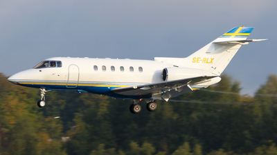 SE-RLX - Raytheon Hawker 800XP - Grafair