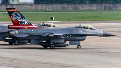 6635 - General Dynamics F-16AM Fighting Falcon - Taiwan - Air Force