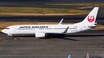 A picture of JA318J - Boeing 737846 - Japan Airlines - © Shogo Kawai