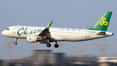 A picture of B8436 - Airbus A320214 - Spring Airlines - © XPHNGB