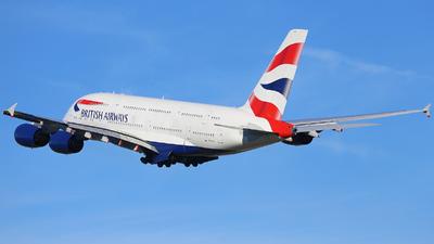 G-XLEL - Airbus A380-841 - British Airways