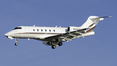N706QS - Bombardier BD-100-1A10 Challenger 300 - NetJets Aviation