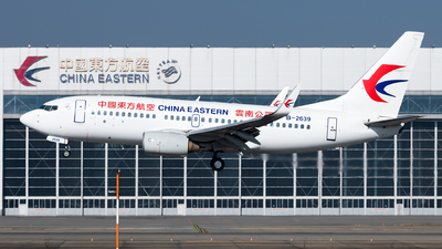 A picture of B2639 - Boeing 7377W0 - China Eastern Airlines - © Lazy Clutch
