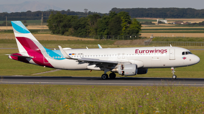 A picture of DAEWL - Airbus A320214 - Eurowings - © Alexander Jeglitsch