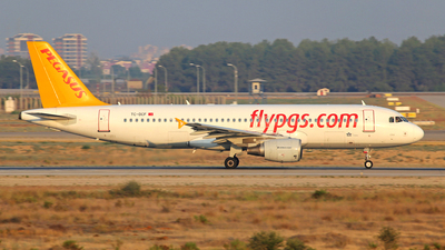 TC-DCF - Airbus A320-214 - Pegasus Airlines