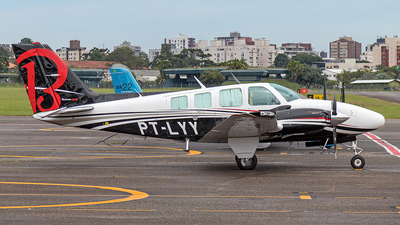 PT-LYY - Beechcraft 58 Baron - Private