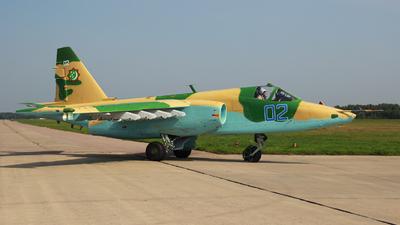 02 - Sukhoi Su-25SM Frogfoot - Turkmenistan - Air Force