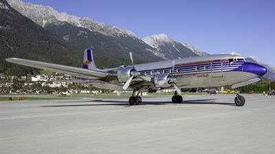 A picture of OELDM - Douglas DC6B - [45563] - © Bocchio Giacomo