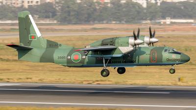 3505 - Antonov An-32B - Bangladesh - Air Force
