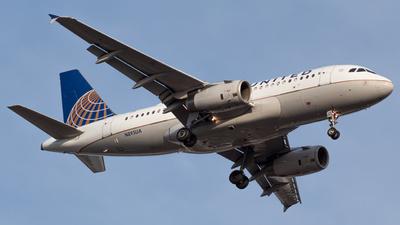 N895UA - Airbus A319-132 - United Airlines