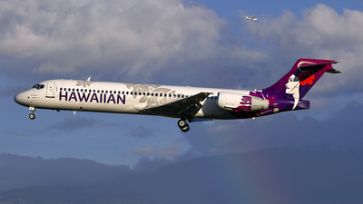 A picture of N494HA - Boeing 7172BL - Hawaiian Airlines - © Chasen Richardson