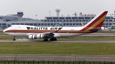A picture of N705CK - Boeing 7474B5F - Kalitta Air - © oneworld_Wang