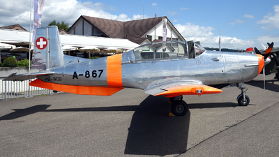 HB-RCD - Pilatus P-3-05 - Private