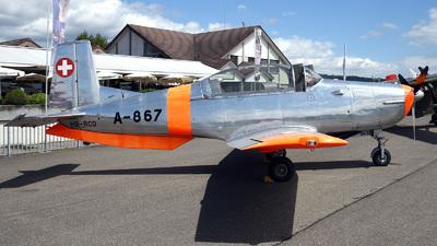 A picture of HBRCD - Pilatus P305 - [50554] - © Mirko Bleuer