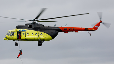 RA-24186 - Mil Mi-8T Hip - UTair Aviation