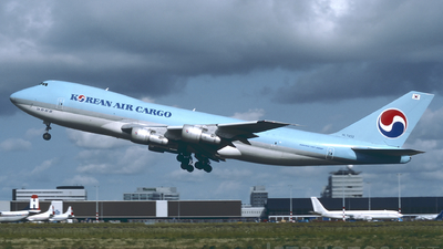 HL7452 - Boeing 747-2B5F(SCD) - Korean Air Cargo