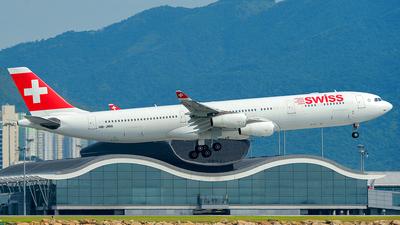 HB-JMA - Airbus A340-313X - Swiss