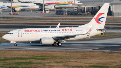 A picture of B5298 - Boeing 73779P - China Eastern Airlines - © ShirokaneRinko