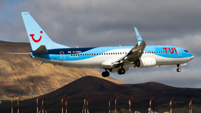 A picture of GTAWU - Boeing 7378K5 - TUI fly - © aaron_gcrr