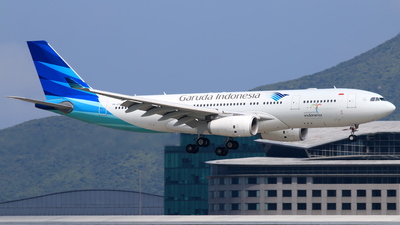 PK-GPO - Airbus A330-243 - Garuda Indonesia