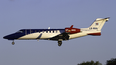 LX-RSQ - Bombardier Learjet 45 - Luxembourg Air Rescue (LAR)