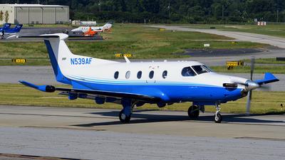 A picture of N539AF - Pilatus PC12/47E - PlaneSense - © Agustin Anaya