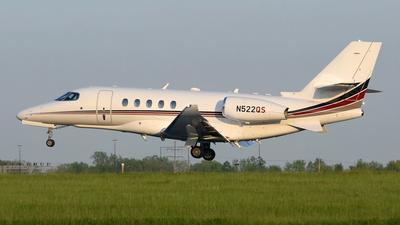 N522QS - Cessna Citation Latitude - NetJets Aviation