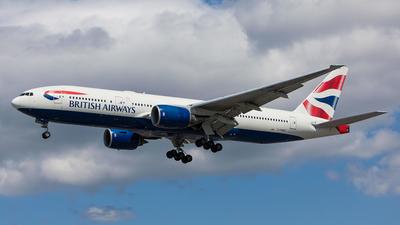 G-YMMF - Boeing 777-236(ER) - British Airways