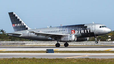 N522NK - Airbus A319-132 - Spirit Airlines