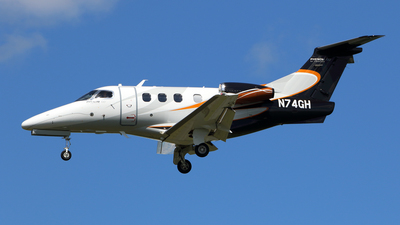 A picture of N74GH - Embraer Phenom 100 - [50000252] - © Michael Durning