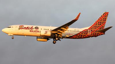 A picture of 9MLNZ - Boeing 7378GP - Batik Air Malaysia - © Wanping Chen
