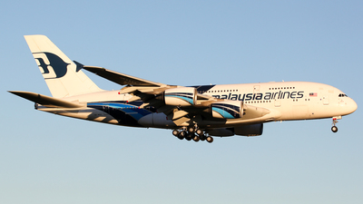 9M-MNA - Airbus A380-841 - Malaysia Airlines