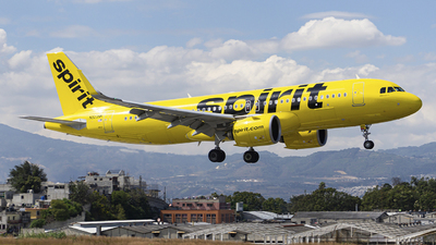 A picture of N923NK - Airbus A320271N - Spirit Airlines - © chalymtz