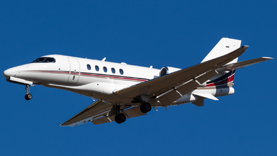 N551QS - Cessna 680 Citation Sovereign - NetJets Aviation
