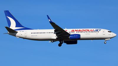 TC-JFR - Boeing 737-8F2 - AnadoluJet