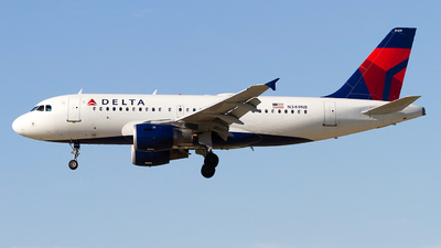 A picture of N349NB - Airbus A319114 - Delta Air Lines - © Jeremy D. Dando
