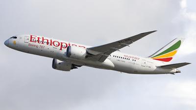 ET-AOO - Boeing 787-8 Dreamliner - Ethiopian Airlines