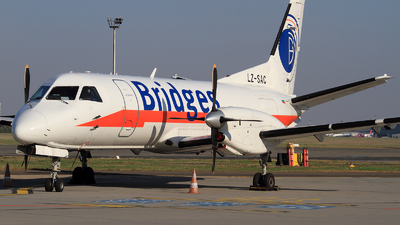 LZ-SAC - Saab 340A(F) - Bridges Worldwide (Air Scorpio)