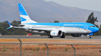 LV-GVE - Boeing 737-8 MAX - Aerolíneas Argentinas