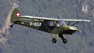 HB-PAV - Piper PA-18-150 Super Cub - Private