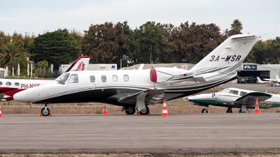3A-MSR - Cessna 525 CitationJet 1 Plus - Monaco - Government