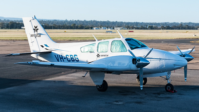 VH-CBG - Beechcraft 95-B55 Baron - Aerostar Aviation