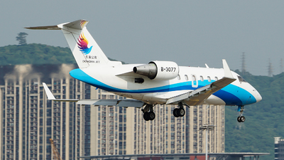 B-3077 - Bombardier CL-600-2B16 Challenger 605 - Donghai Jet