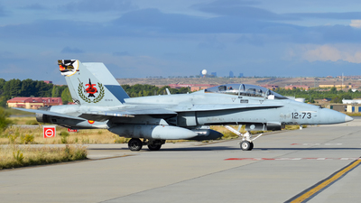 CE.15-10 - McDonnell Douglas EF-18B Hornet - Spain - Air Force